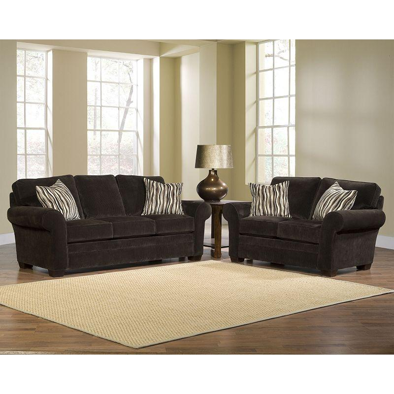Broyhill Furniture Zachary Stationary Living Room Group - Item Number: 7902 Living Room Group 1