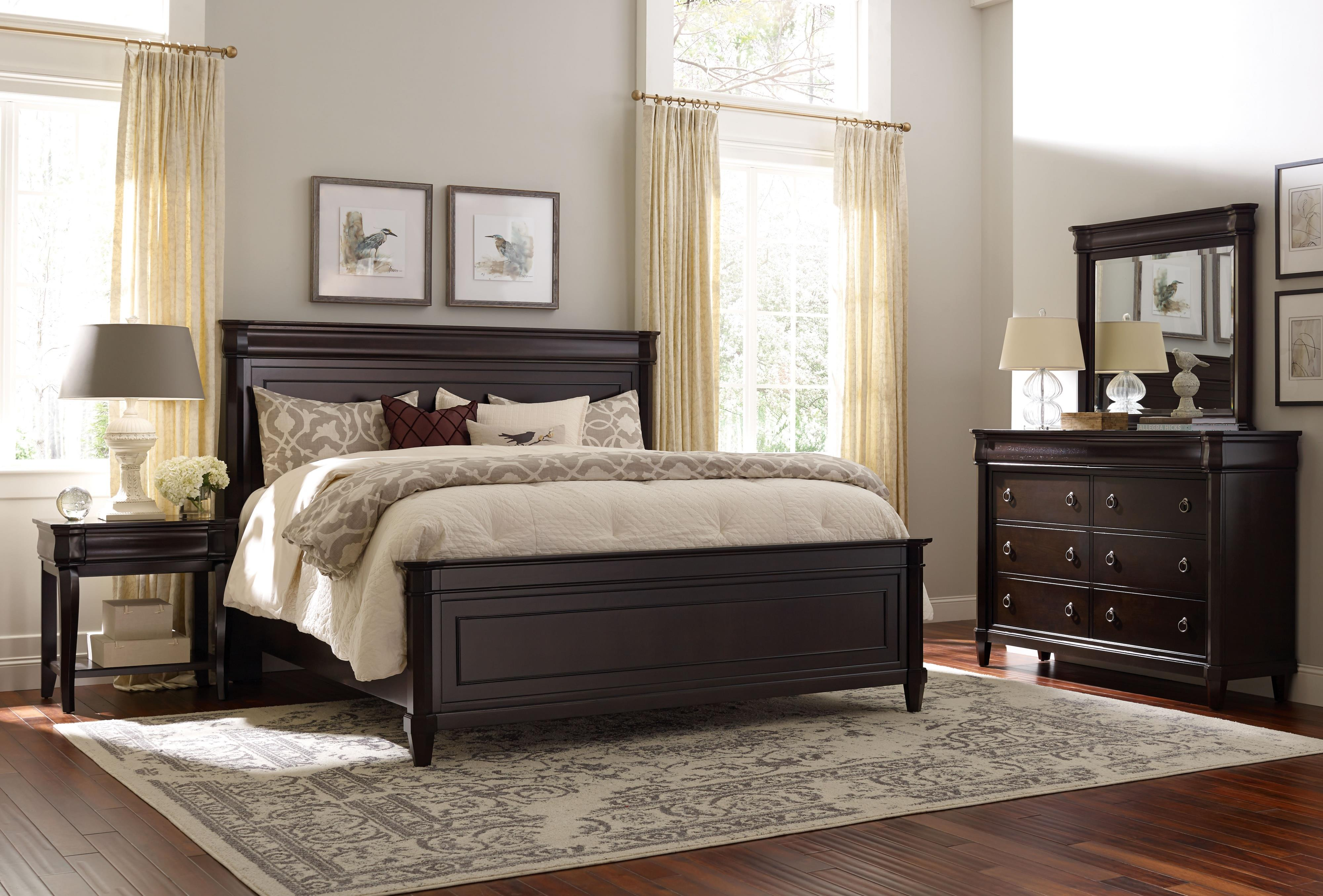 Broyhill Furniture Aryell Queen Bedroom Group - Item Number: 4907 Q Bedroom Group 1