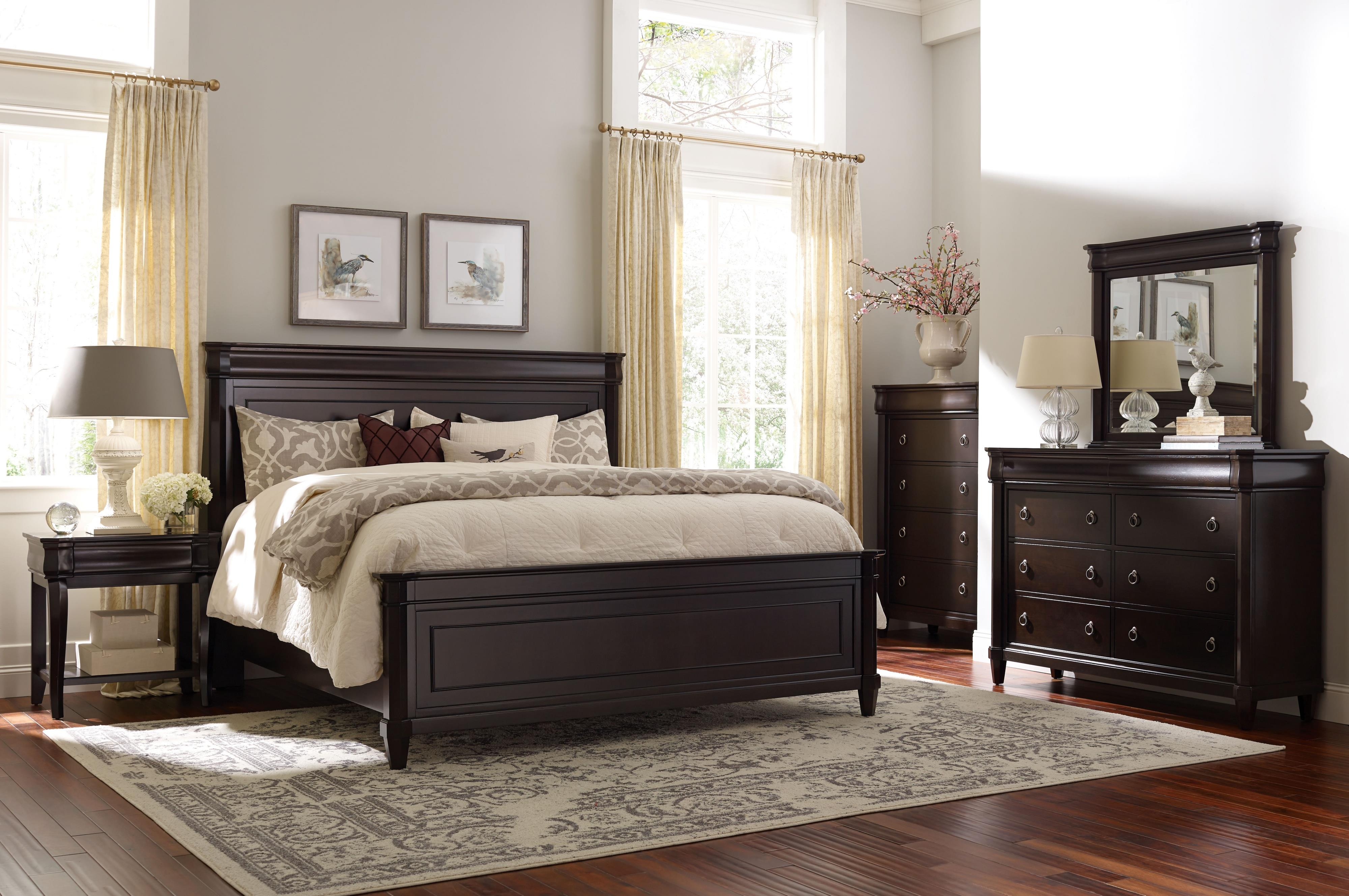 Broyhill Furniture Aryell King Bedroom Group - Item Number: 4907 K Bedroom Group 3