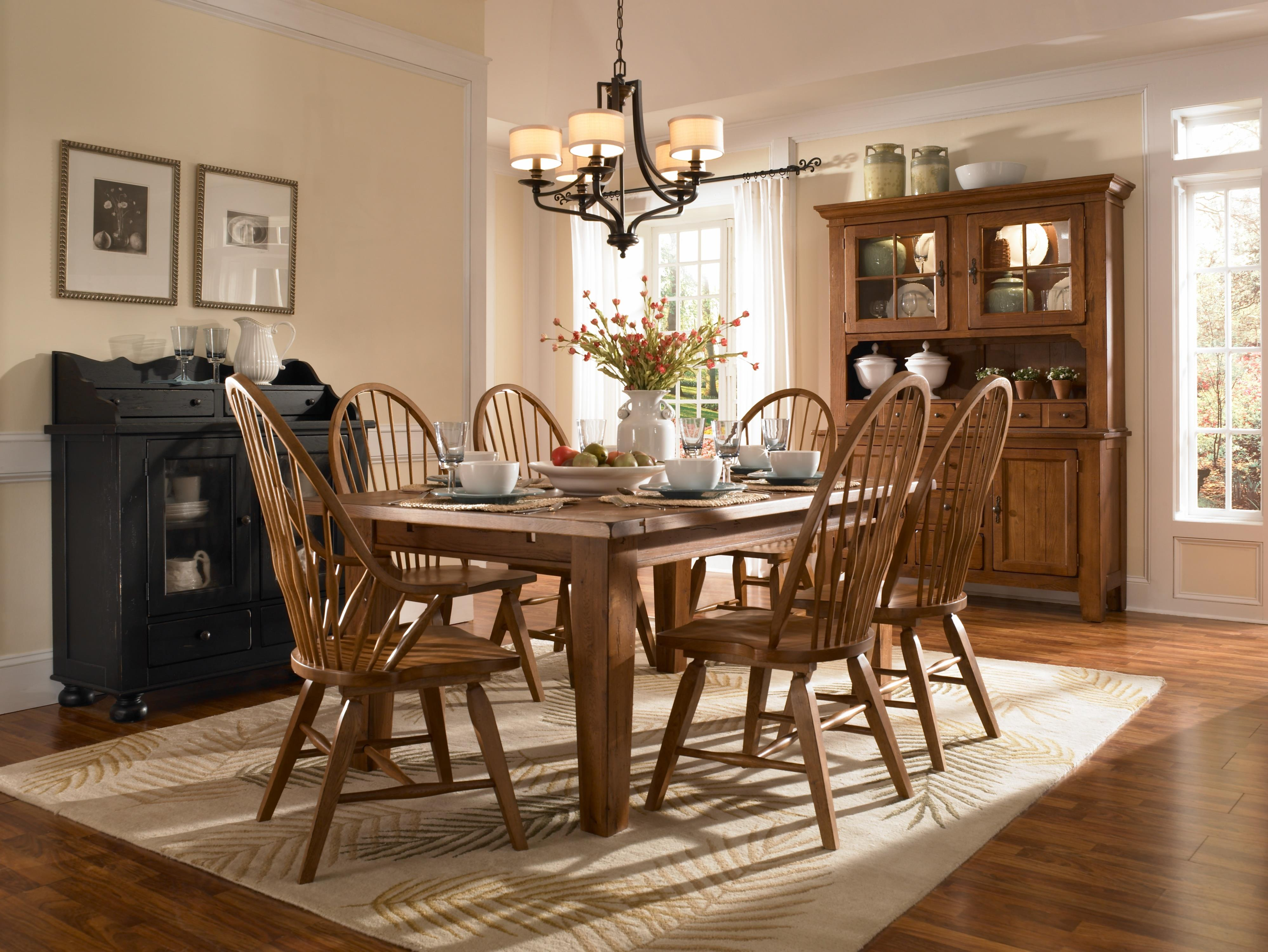 Broyhill Furniture Attic Heirlooms Counter Height 7 Piece Dining Set ...