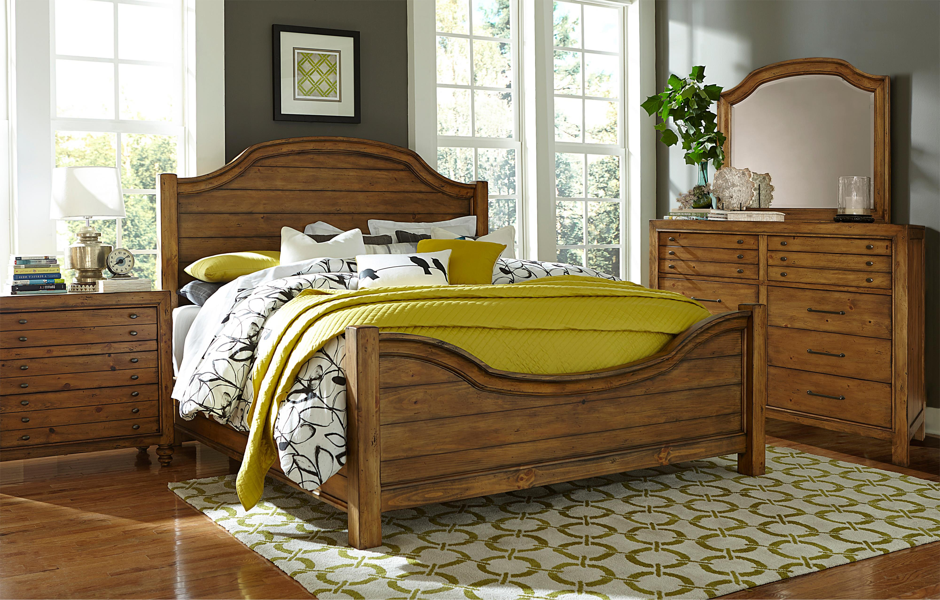 Broyhill Furniture Bethany Square King Bedroom Group - Item Number: 4930 K Bedroom Group 1