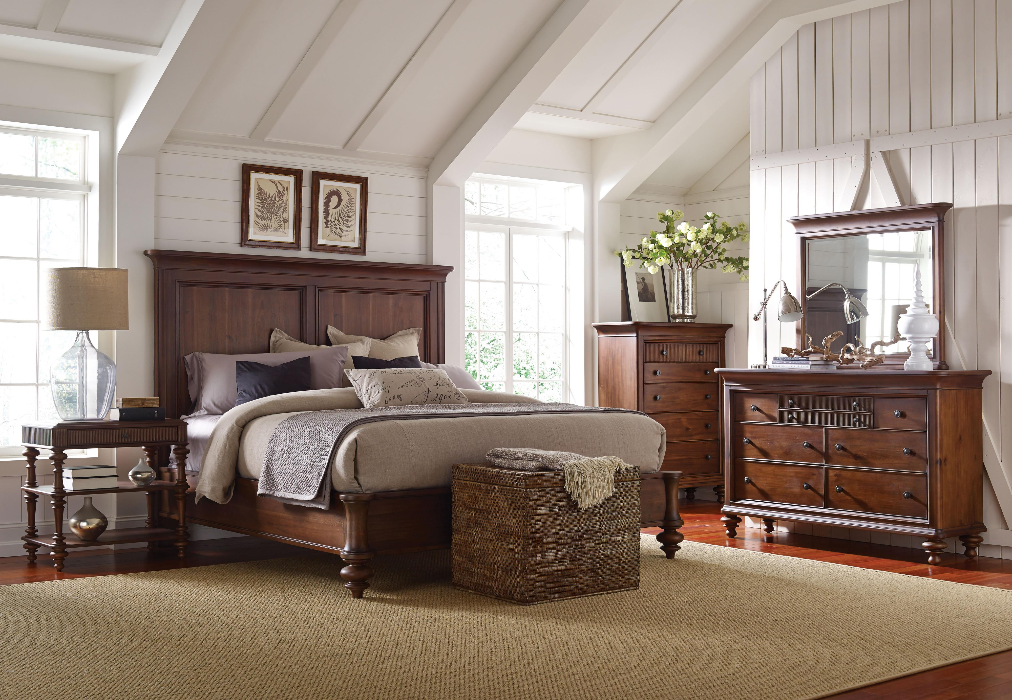 Broyhill Furniture Cascade California King Bedroom Group Miller