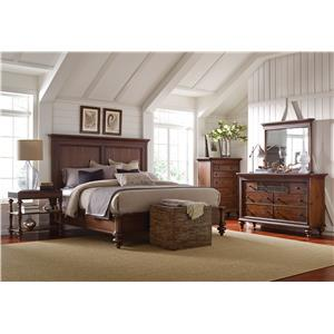 Broyhill Furniture Cascade Queen Bedroom Group