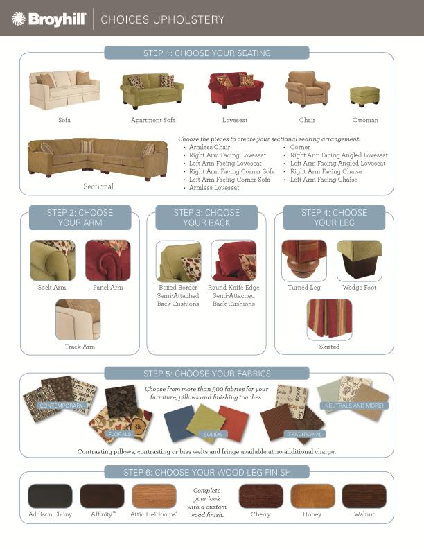 Choices Upholstery B By Broyhill Furniture Ahfa Dealer