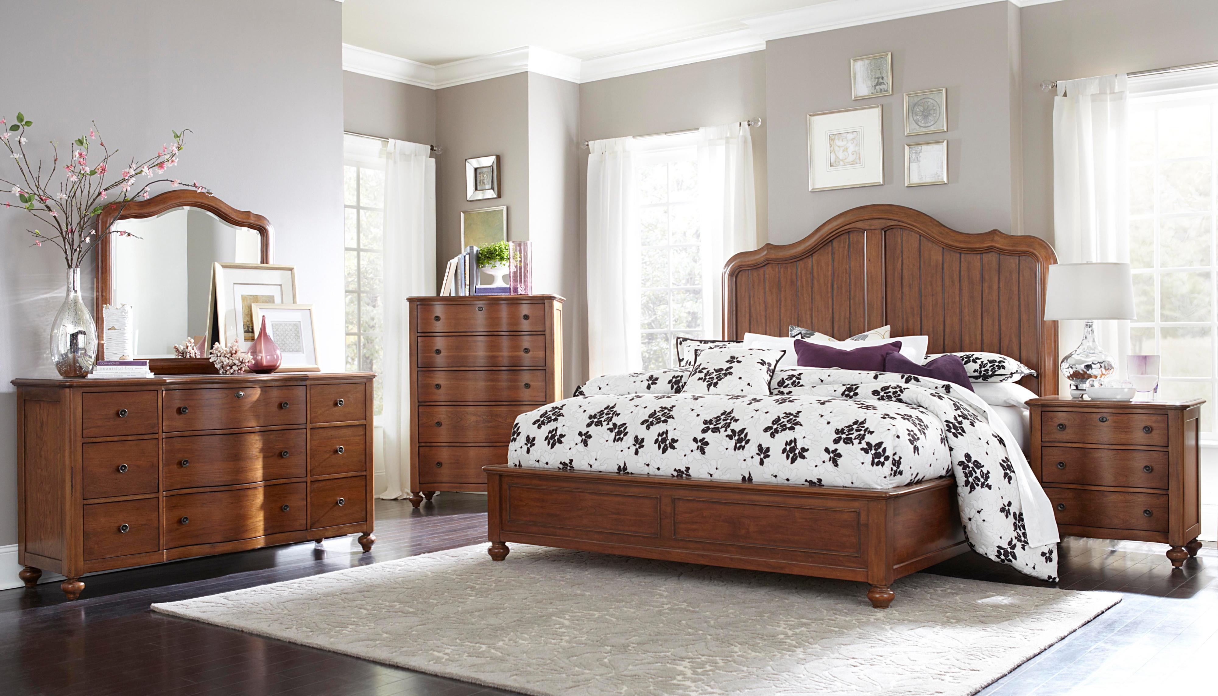 Broyhill Furniture Creswell Queen Bedroom Group - AHFA - Bedroom ...