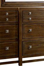 Breakfront Design on Dresser