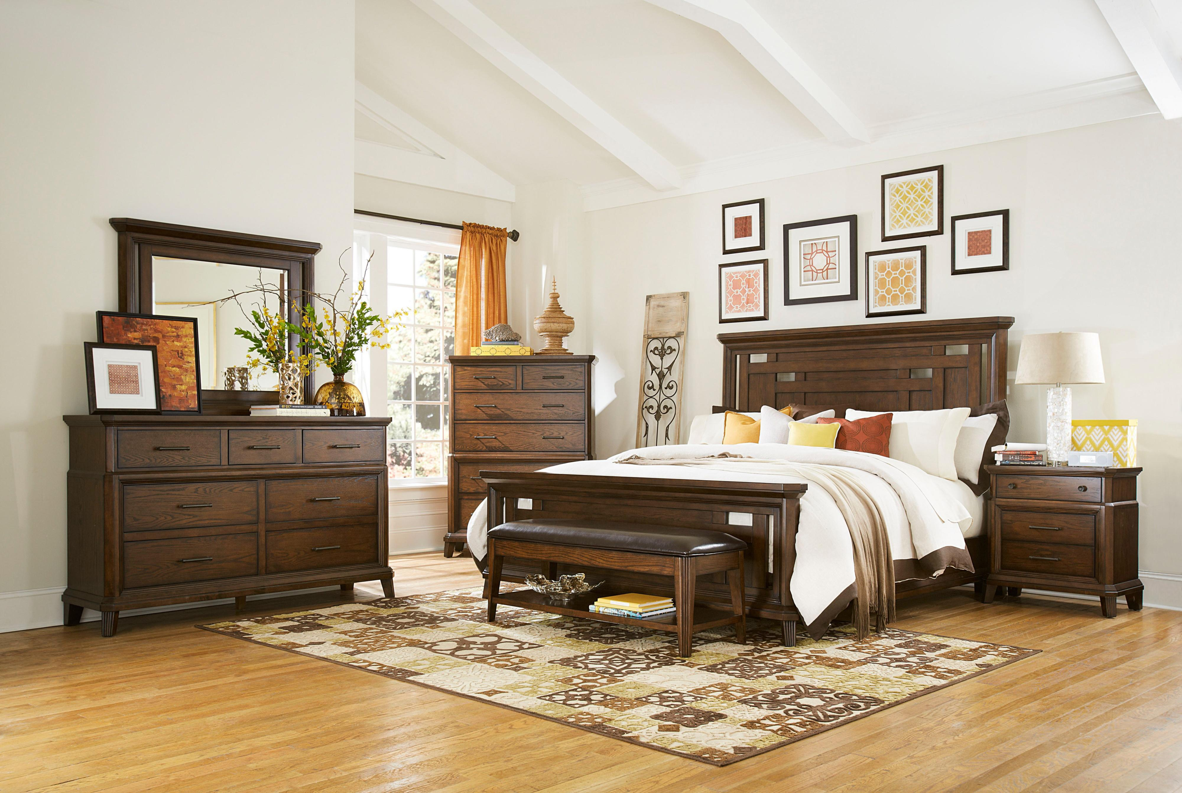 Broyhill Furniture Estes Park California King Bedroom Group - Item Number: 4364 CK Bedroom Group 1