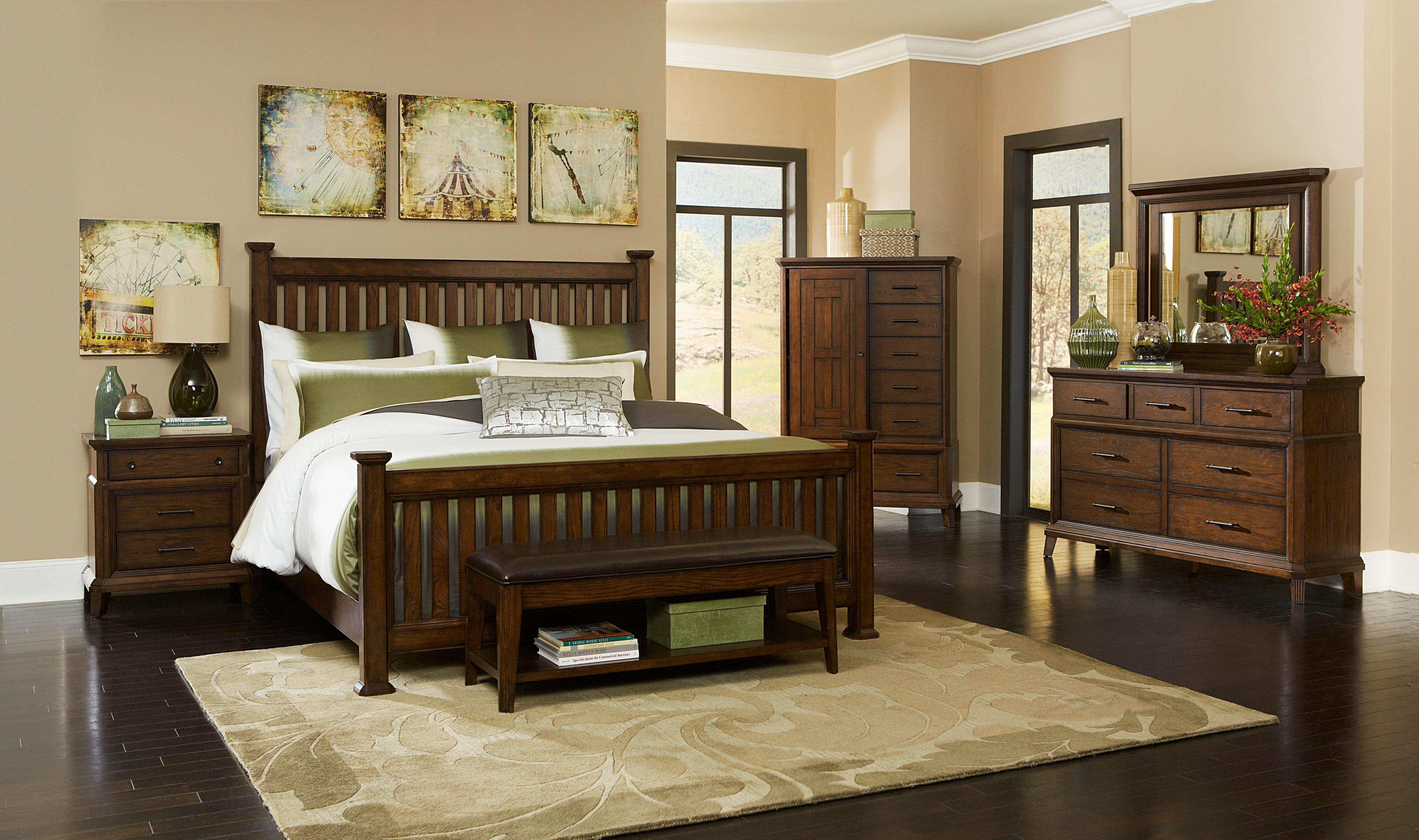 Broyhill Furniture Estes Park King Bedroom Group - Item Number: 4364 K Bedroom Group 4