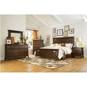 Broyhill Furniture Estes Park King Bedroom Group
