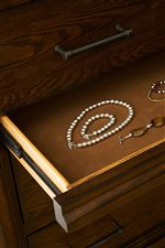 Select Items Feature Felt-Lined Drawers or Trays for Jewelry
