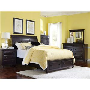 Broyhill Furniture Farnsworth King Bedroom Group