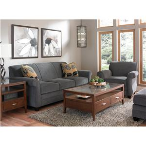 Broyhill Furniture Greenwich Stationary Living Room Group