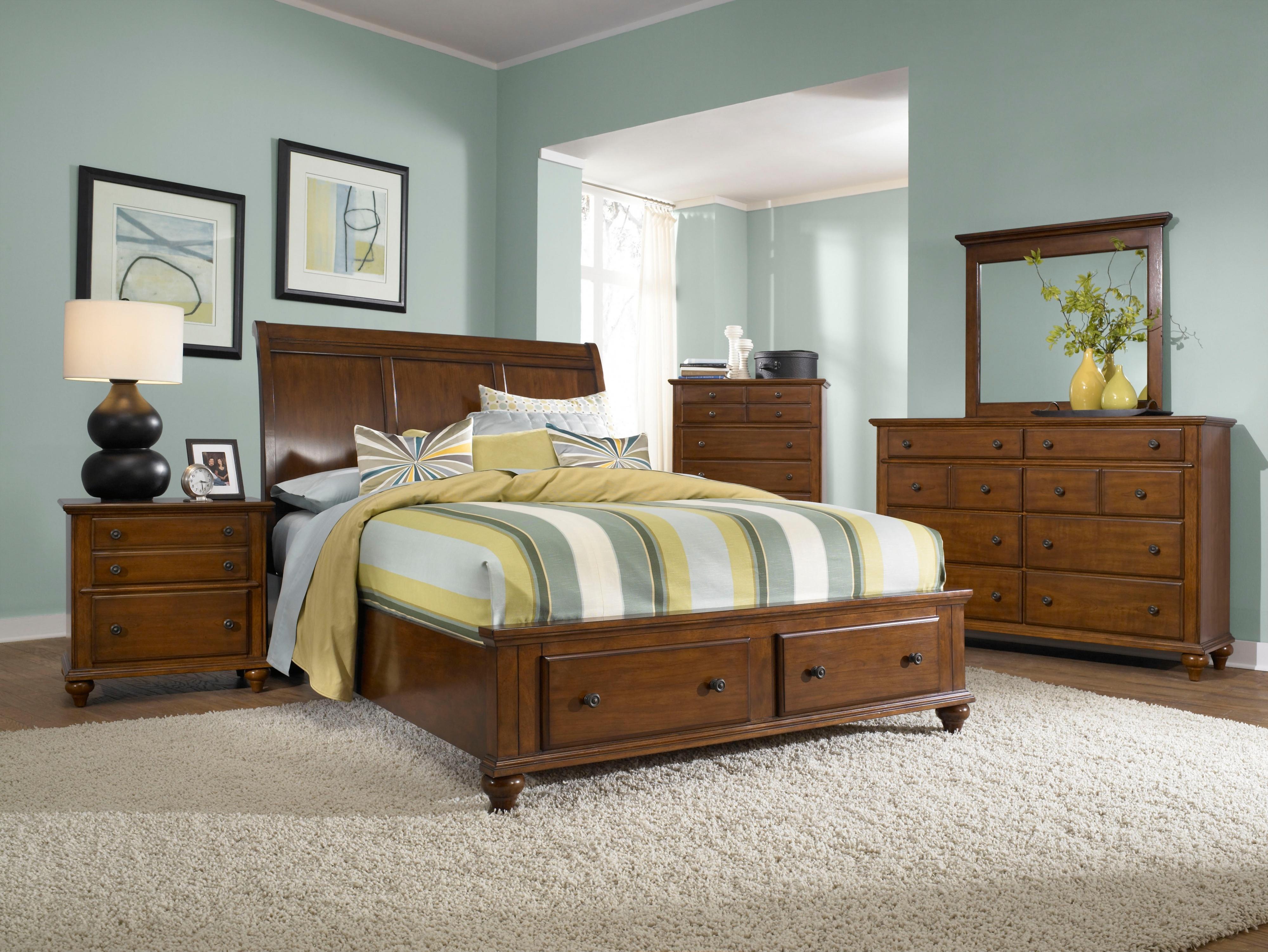 Broyhill Furniture Hayden Place Queen Bedroom Group - Item Number: 4648 Q Bedroom Group 4