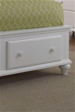 Footboard Storage Unit Drawers