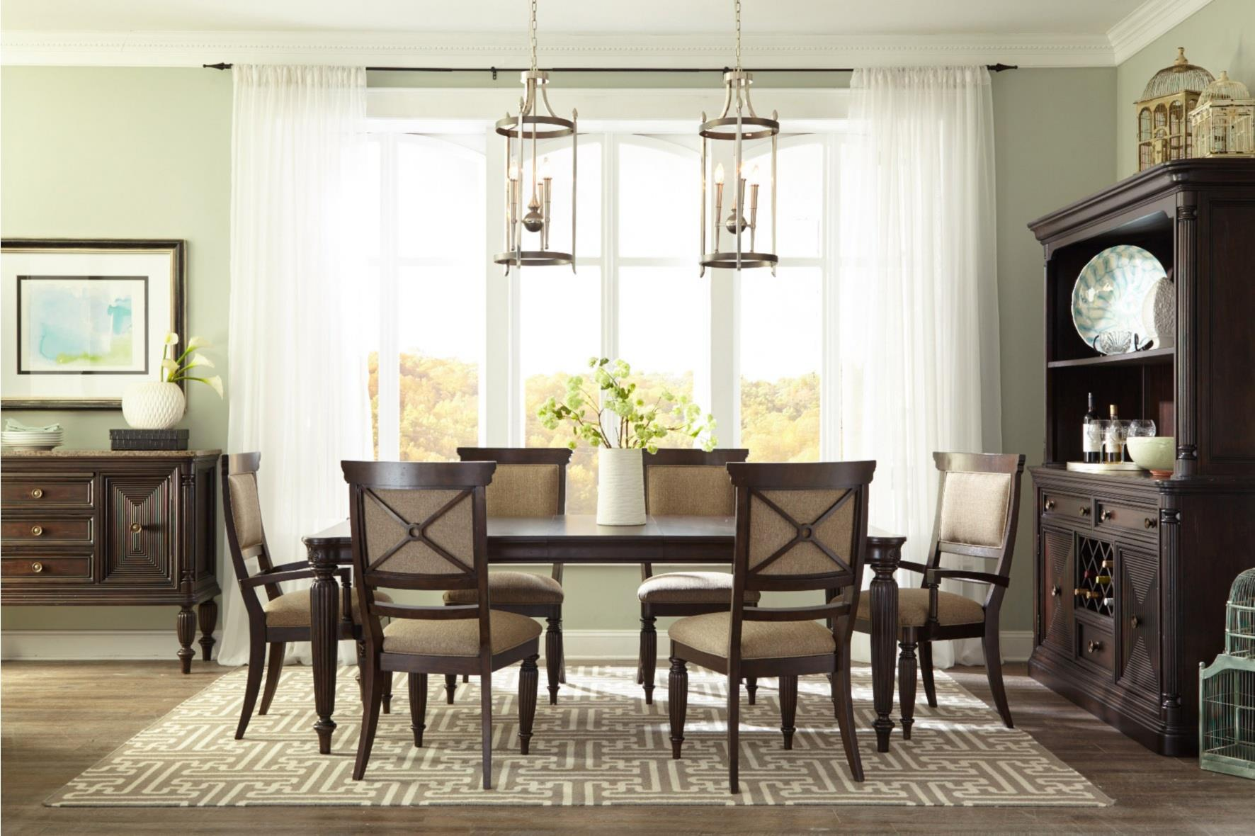 Broyhill Furniture Jessa Formal Dining Room Group - Item Number: 4980 Dining Room Group 1