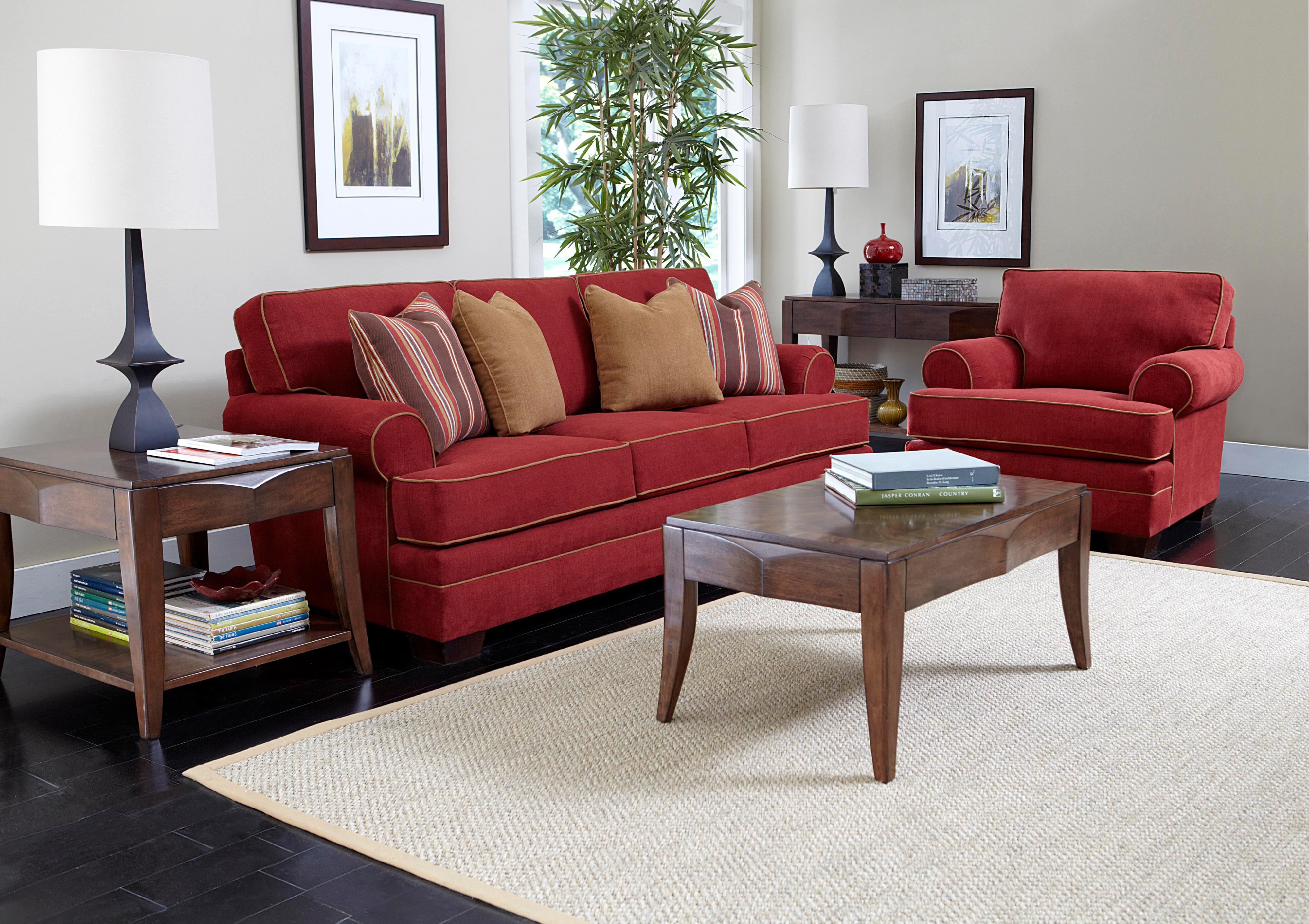 Broyhill Furniture Landon Stationary Living Room Group - Item Number: 6608 Living Room Group 1