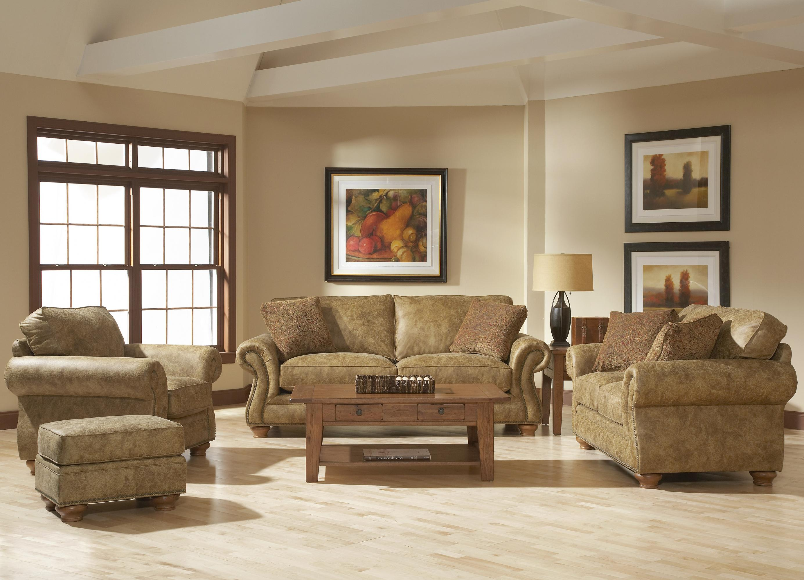 Broyhill Furniture Laramie 2 Piece Corner Sectional Sofa Wayside
