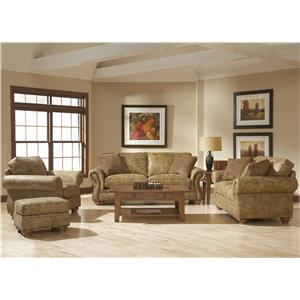 Broyhill Furniture Laramie Stationary Living Room Group