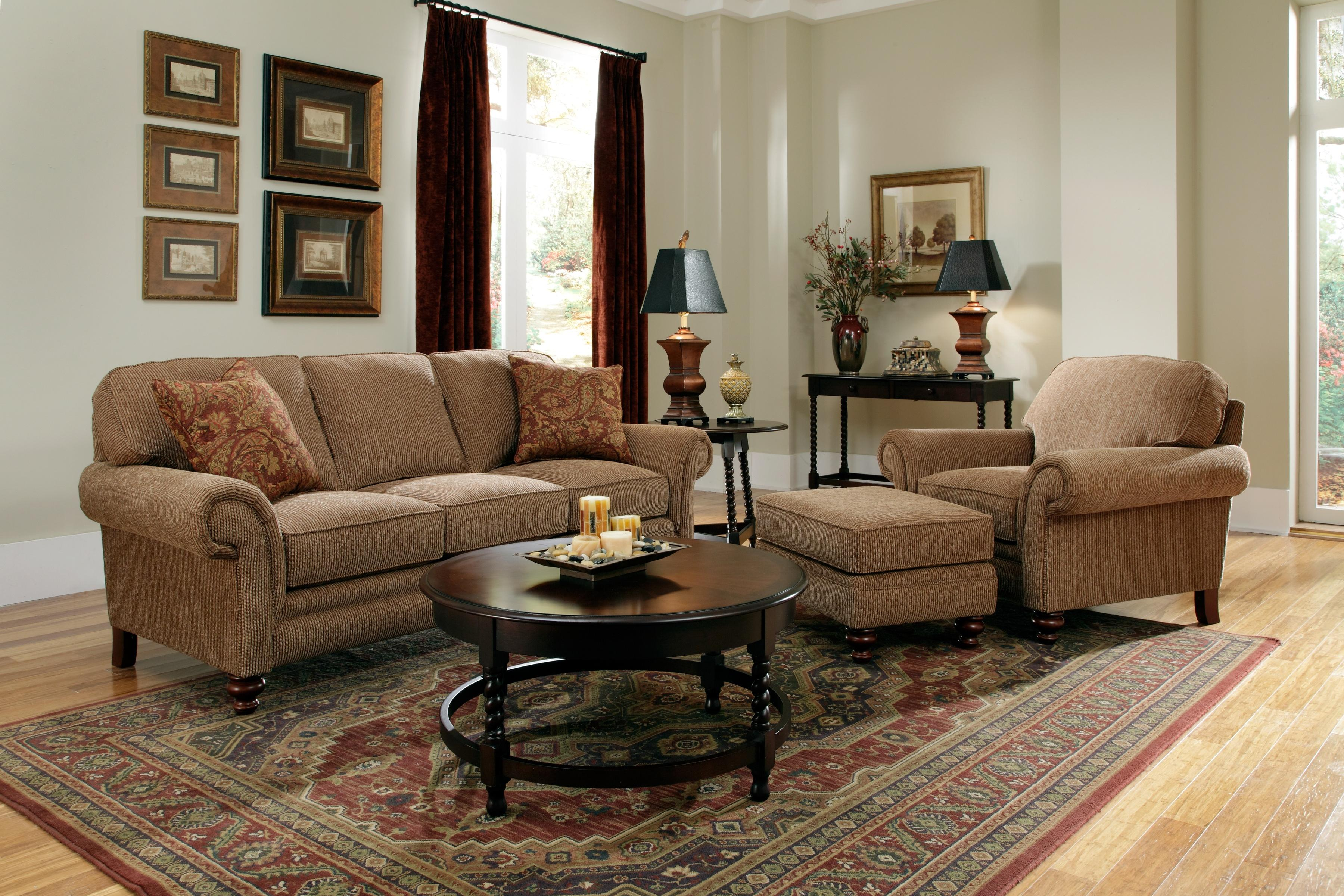 Broyhill Furniture Larissa Stationary Living Room Group - Item Number: 6112 Living Room Group 1