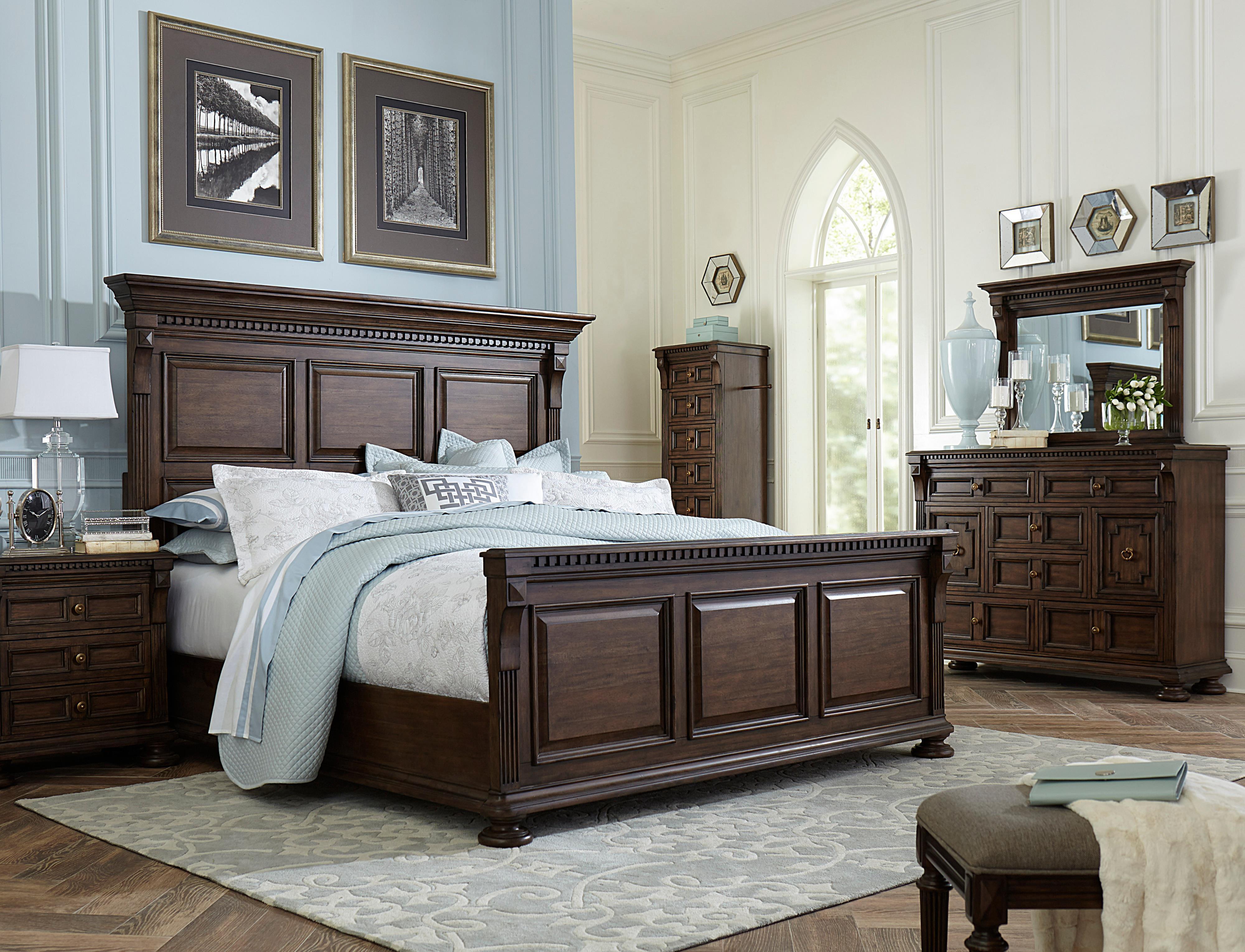 Broyhill Furniture Lyla King Bedroom Group - Item Number: 4912 K Bedroom Group 1