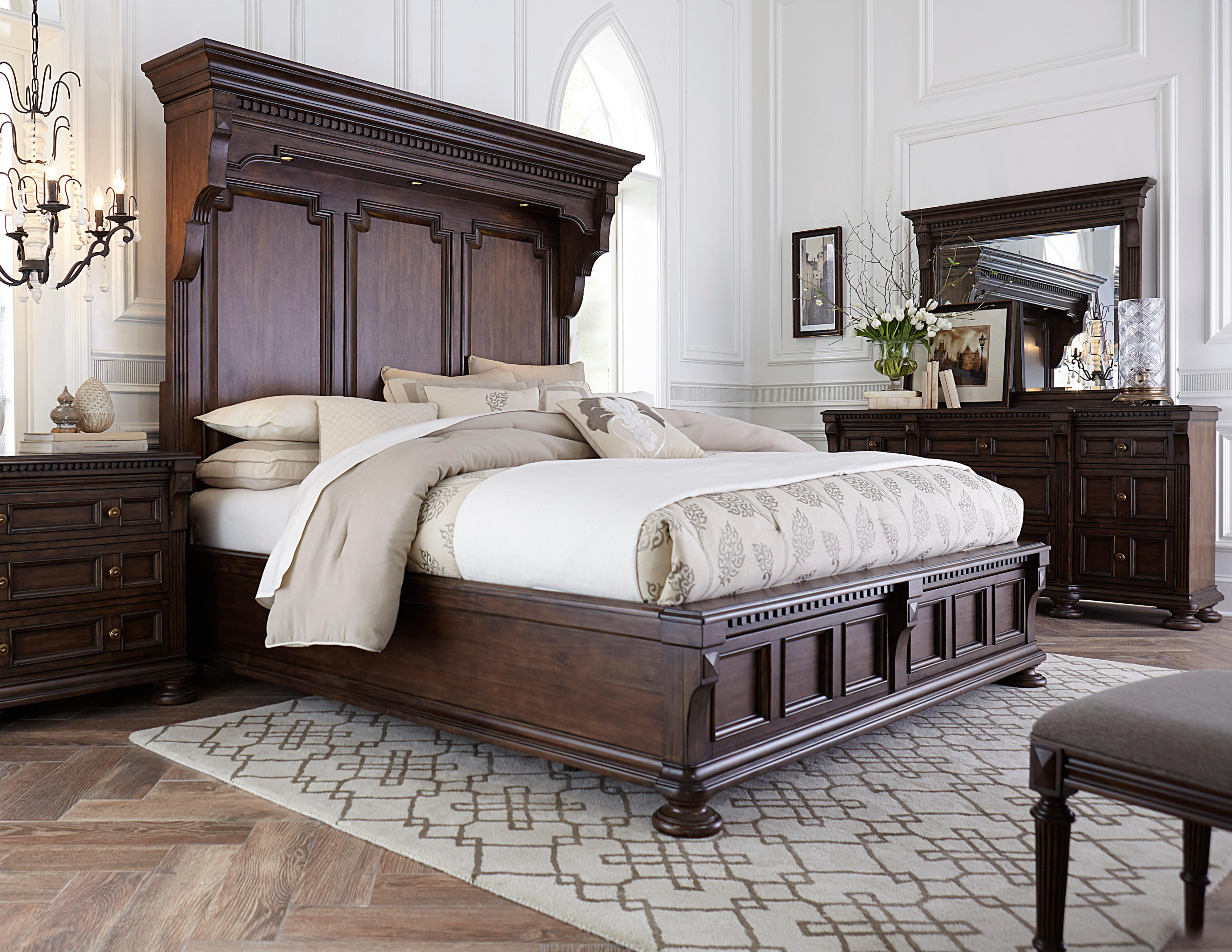 Broyhill Furniture Lyla Queen Bedroom Group - Item Number: 4912 Q Bedroom Group 2