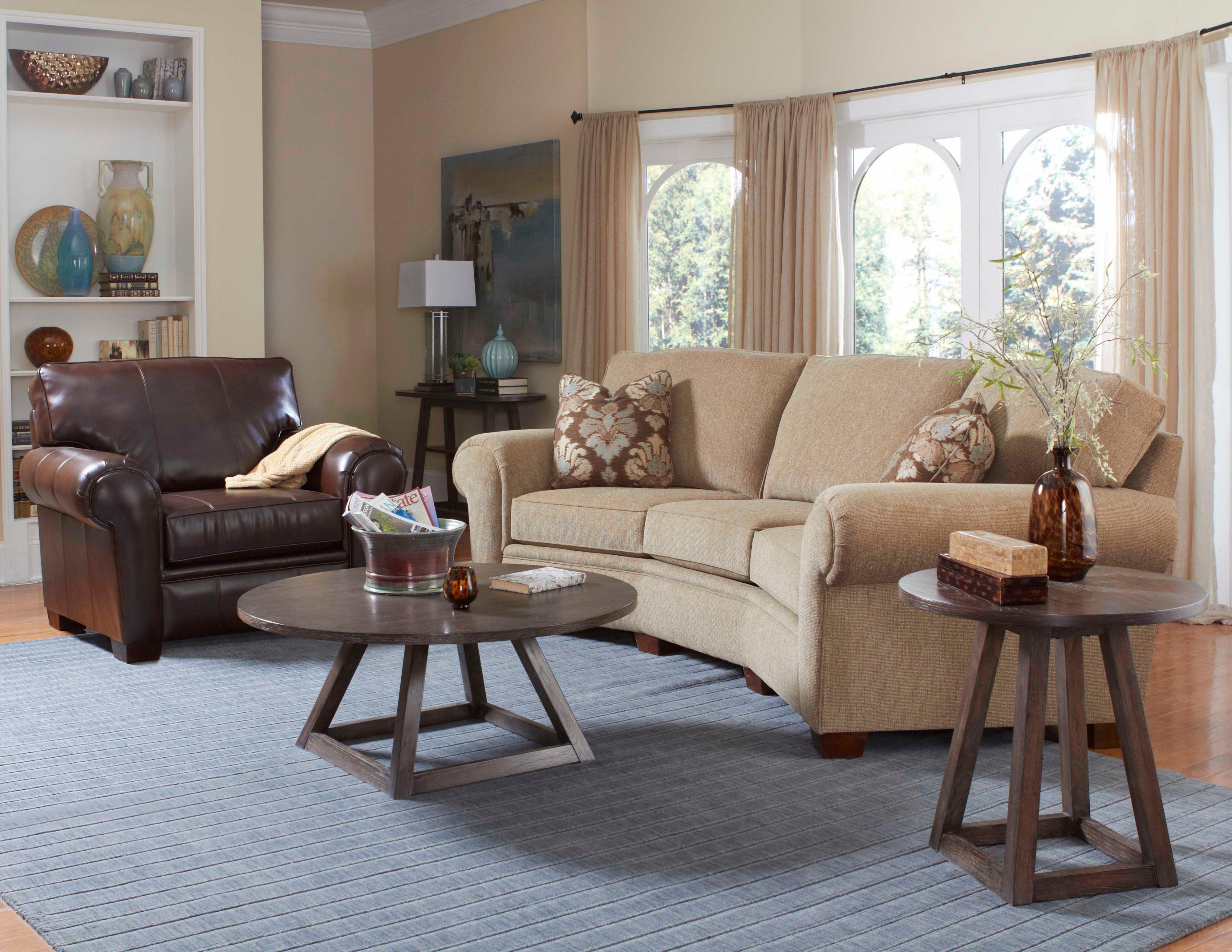 Broyhill Furniture Miller Stationary Living Room Group - Item Number: 5300 Living Room Group 1