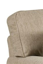 Boxed Loose Back Cushions with Welt Cord Trim