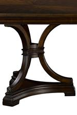 Broyhill Furniture New Charleston Traditional Entertainment Console with Adjustable Shelving