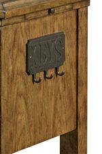 Unique Key Plaque Highlights Antique Charm