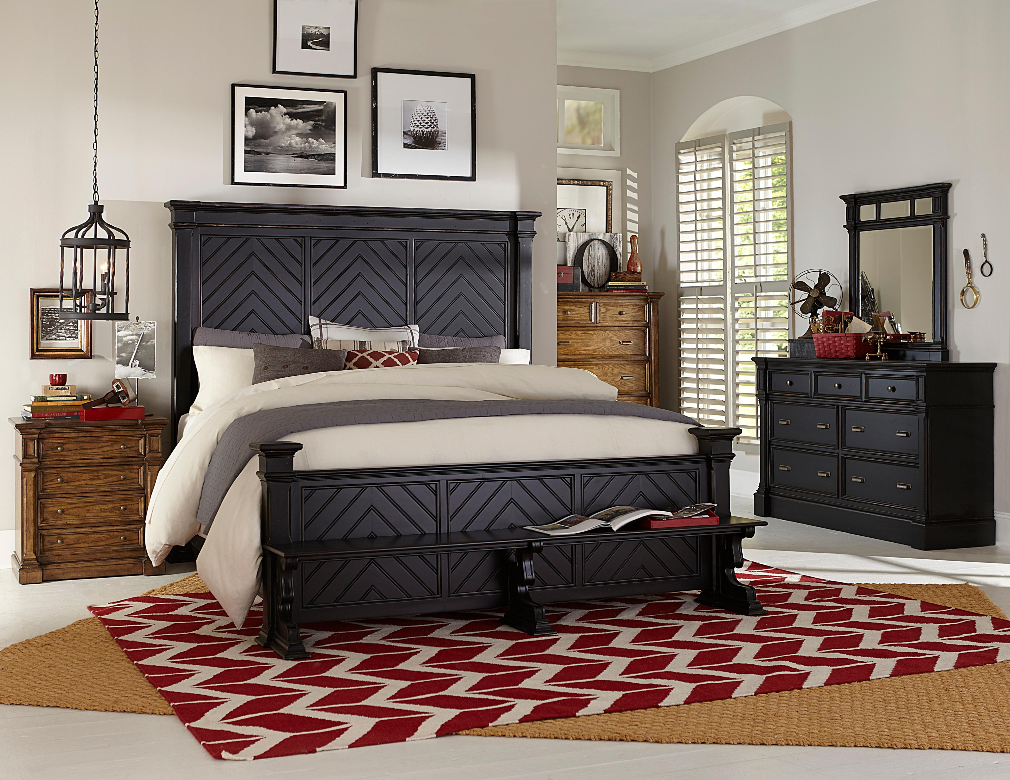Broyhill Furniture New Vintage California King Bedroom Group - Item Number: 4809 CK Bedroom Group 2