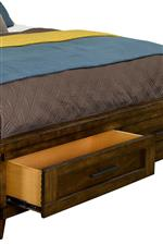 Footboard Storage