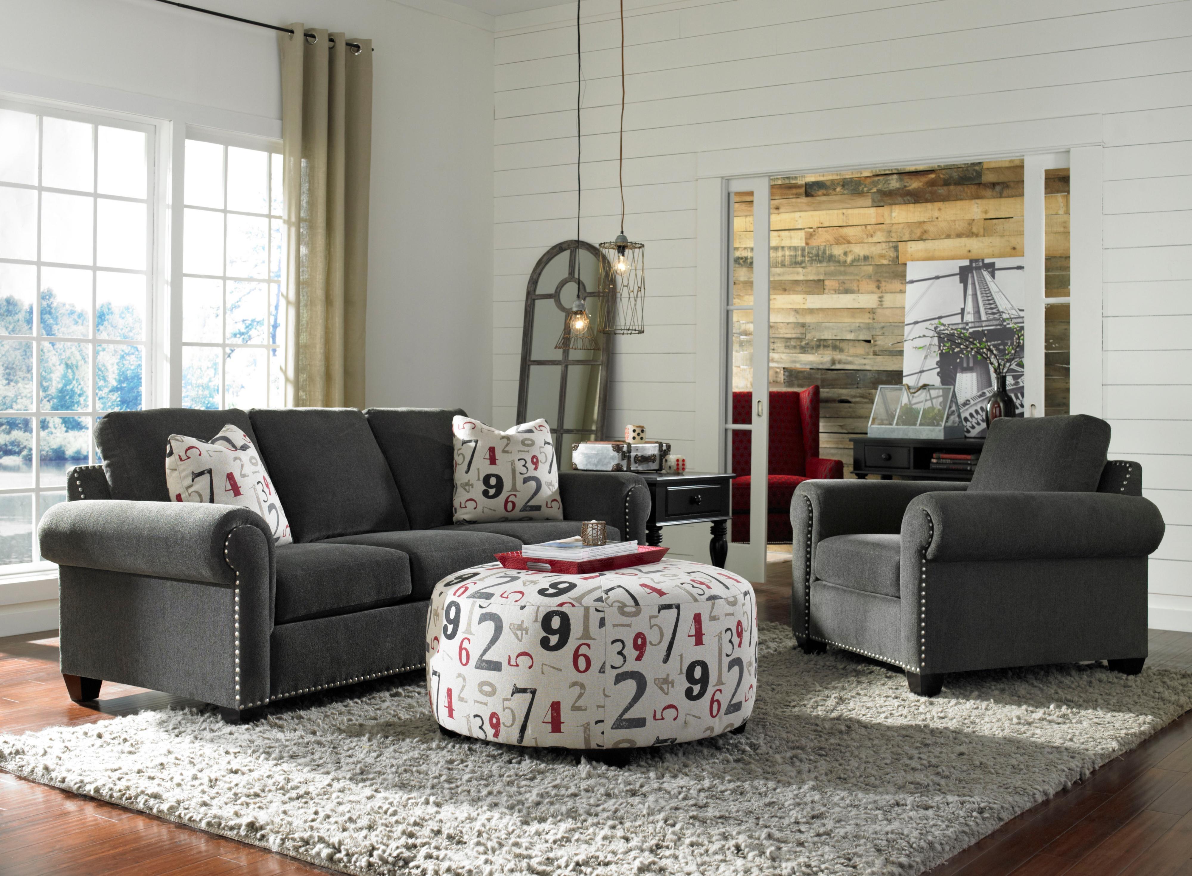 Broyhill Furniture Rowan Stationary Living Room Group - AHFA ...
