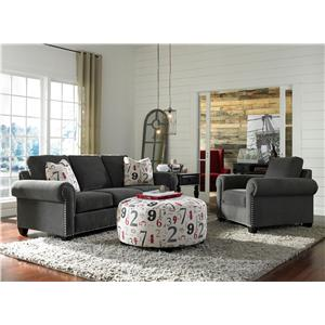 Broyhill Furniture Rowan Stationary Living Room Group