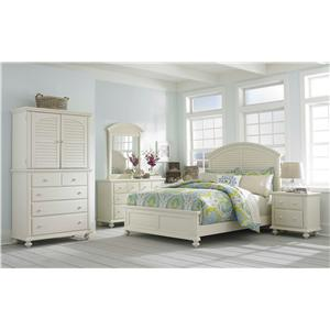 Broyhill Furniture Seabrooke Queen Bedroom Group