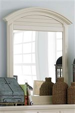 Arched Top Offers a Lovely Silhouette to the Room