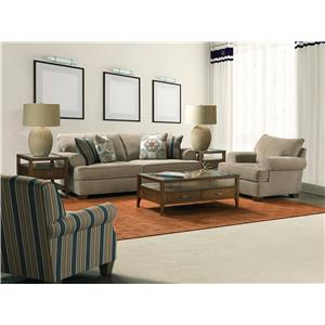 Broyhill Furniture Serenity Stationary Living Room Group