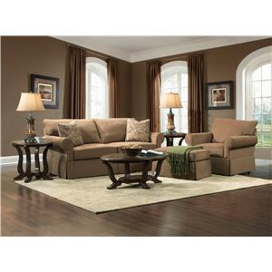 Broyhill Furniture Uptown Stationary Living Room Group