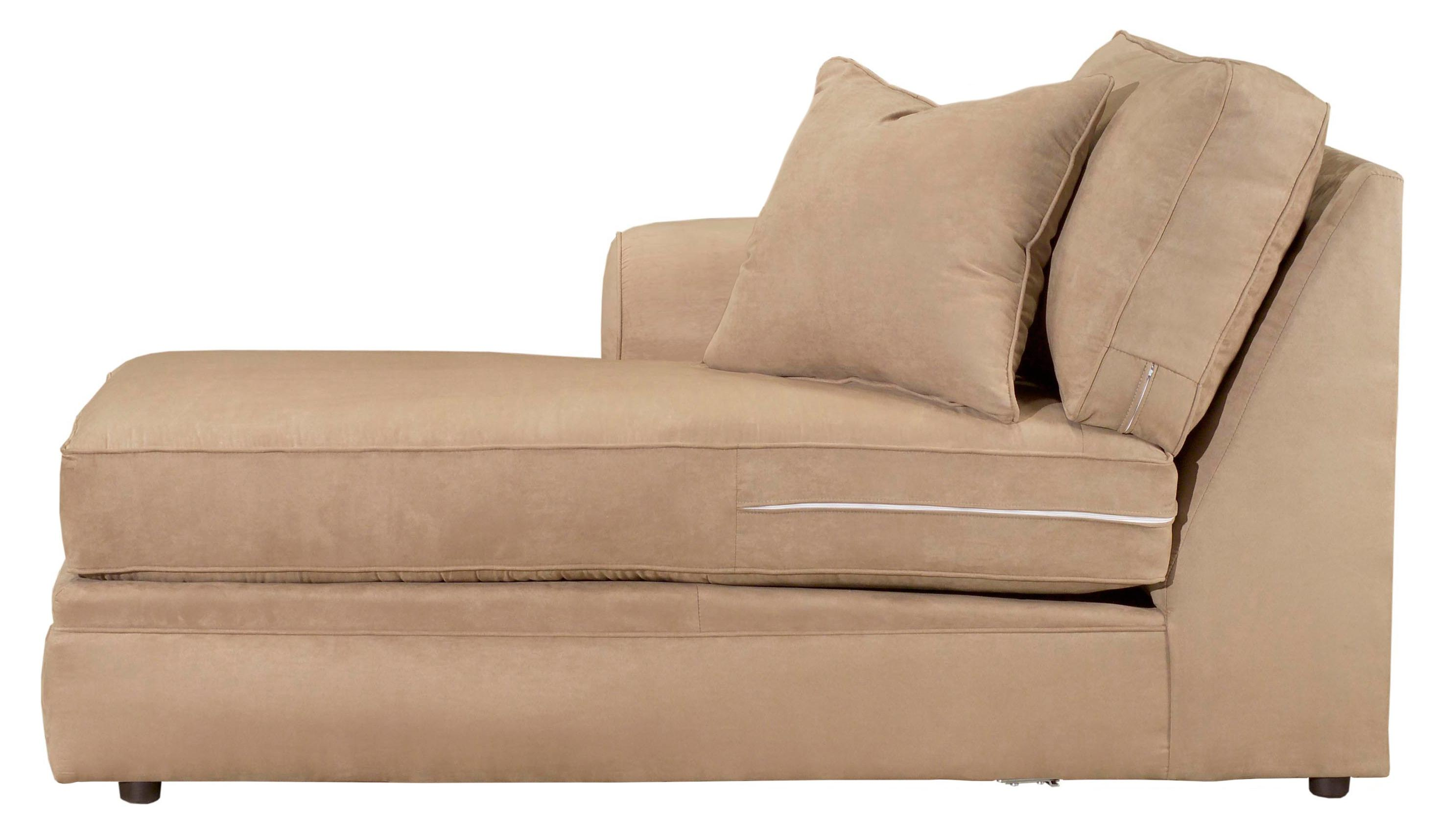 Broyhill furniture veronica chaise sectional sofa conlin for Broyhill chaise