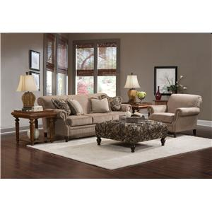 Broyhill Furniture Windsor Stationary Living Room Group