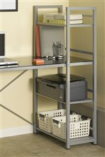 Built-in Set of 3 Fixed Shelves
