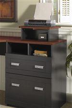 Built-in Printer Shelf