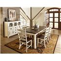 Canadel Champlain - Custom Dining Casual Dining Room Group - Item Number: Set 10 Dining Room Group 1