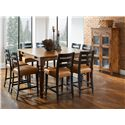 Canadel Champlain - Custom Dining Casual Dining Room Group