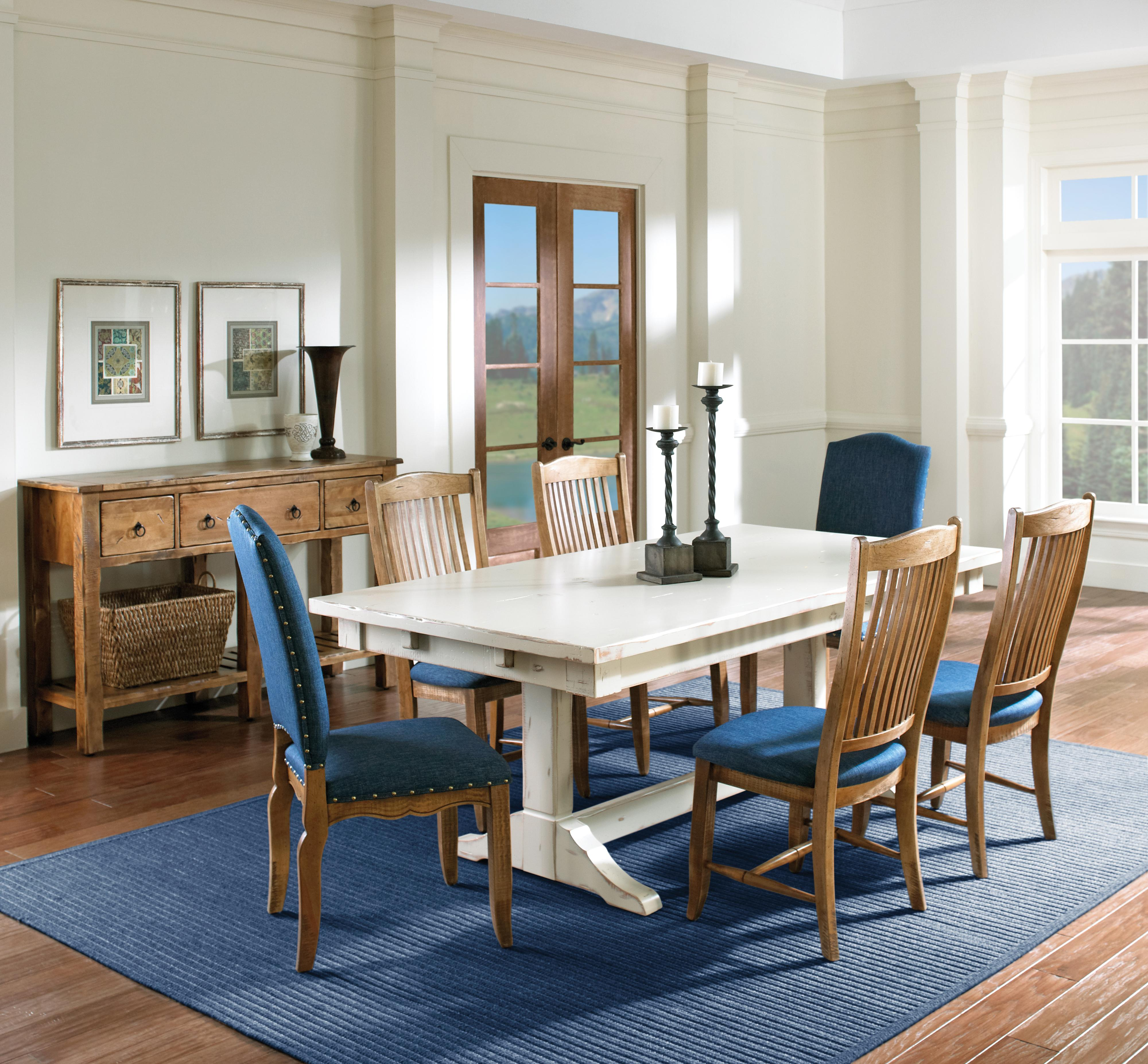 Custom Dining Casual Dining Room Group