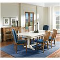 Canadel Champlain - Custom Dining Casual Dining Room Group - Item Number: Set 3 Dining Room Group 1