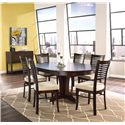 Canadel Custom Dining Customizable Round Table with Leaf Set - Buffet Shown No Longer Available
