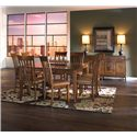 Canadel Custom Dining Customizable Rectangular Table with Leaf