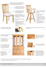 Chairs, Stools, and Storage Pieces Built with Care