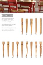 Custom Table Leg Options