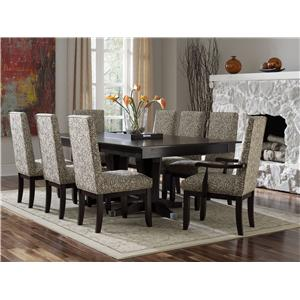 Canadel Custom Dining - Contemporary Customizable Rectangular Table